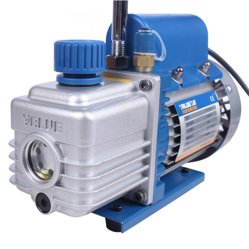 Free shipping Pump Vacuum Rotary Vane Single Stage Mini Vacuum Pump for Air Conditioning