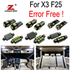 22pc X Free Shipping Canbus Error Free LED Interior Light Kit For BMW X3 F25 2011