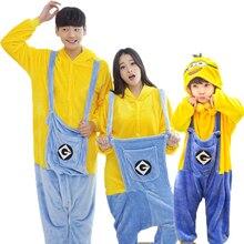 Family Matching Minions Print Sleepwear