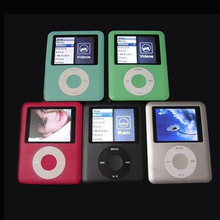 8GB Mini Player 1.8 inch LCD Screen MP3 MP4 Music Player Metal Housing MP4 Player Support E-Book Reading FM Radio as Gifts