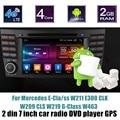 Para B-ENZ E-Cia/ss E300 W211 CLS W219 CLK W209 G-Classe W463 Android 6.0 Carro DVD Player de Rádio GPS tela de toque