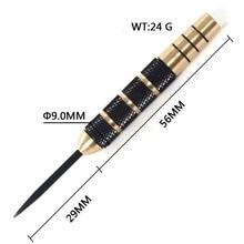 CUESOUL 24 Gram 2BA Steel Tip Dart Barrels Diameter 9mm