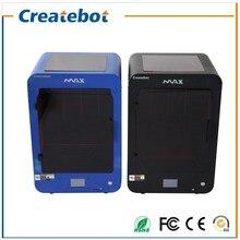 Createbot 3D MAX Принтер Металлический Каркас Большой Pringting Размер 280*250*400 MM FDM 3d Принтер Поддержка PLA/ABS/Дерево/БЕДРА/Гибкая Накаливания