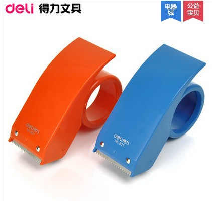 deli 801 tape dispenser metal 48mm packing tape cutter office u0026 school suppies