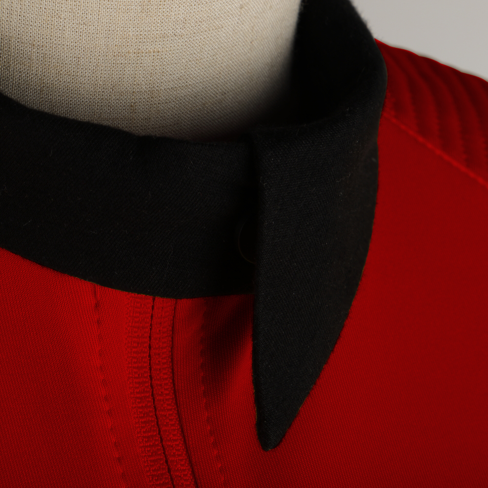 New Star Trek Discovery Season 2 Costume Female Top Starfleet Commander Uniform with Badge Woman Costumes Adult Cosplay Costume (8)