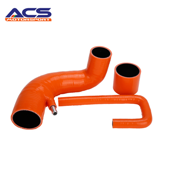 AUTOREFITTING BRAND Pro Hoses Orange Astra H Mk5 VXR Direct Route Silicone Induction Hose Kit
