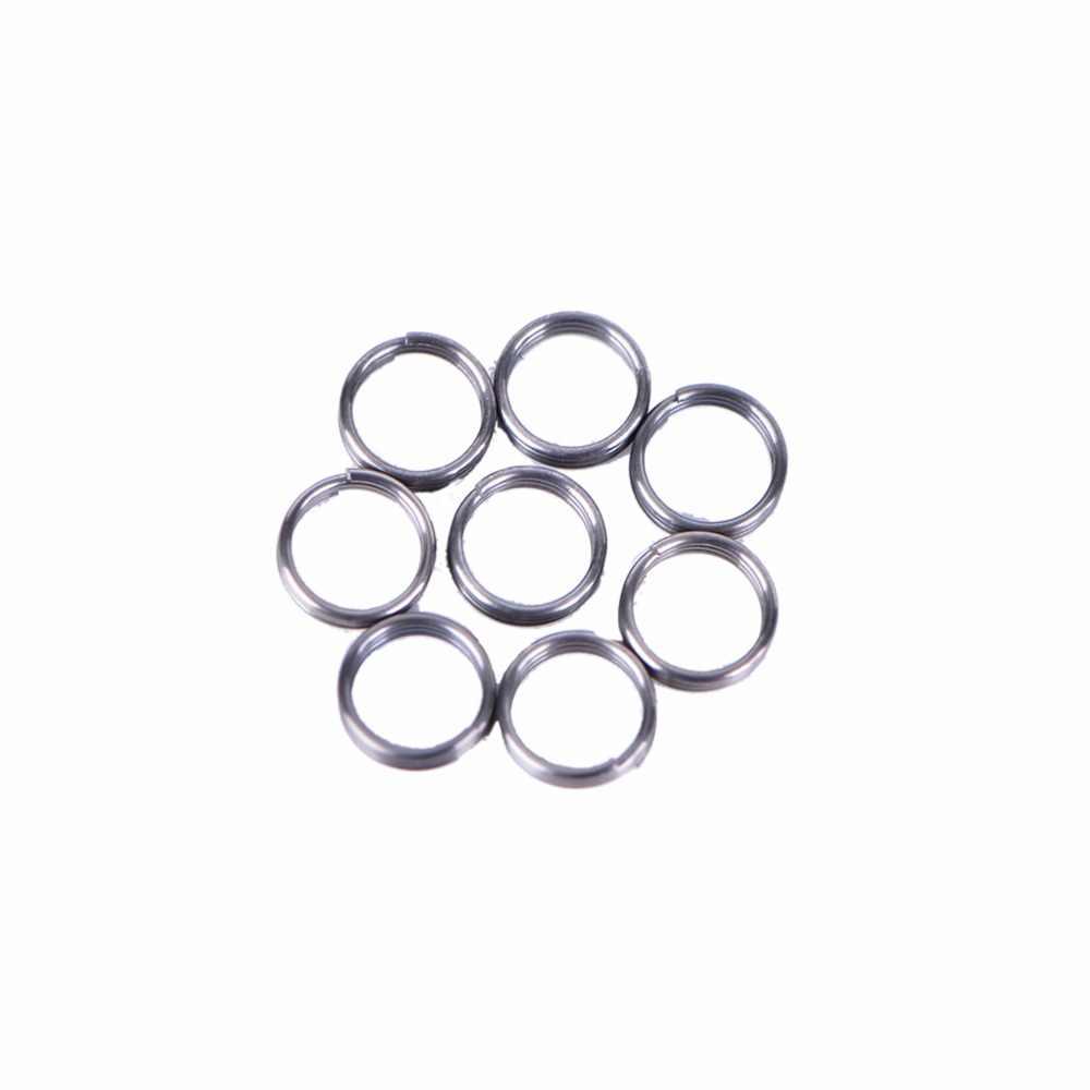 50 шт. кольца из нержавеющей стали для нейлоновой Дротика, валы для полетов, Дротика, аксессуары для профессиональных валов для Дротика