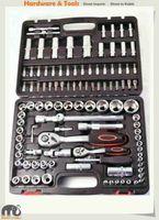 108pc 1/4&1/2 Dr 6pt Socket & Female E Star & Accessory & Bit Master Kit
