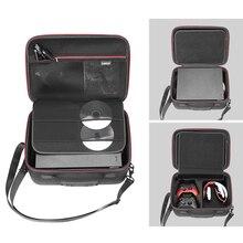цена Newest Portable EVA Hard Travel Case For Xbox one X ONEX Console And Accessories Pouch Storage Box Shoulder Bag Handbag онлайн в 2017 году