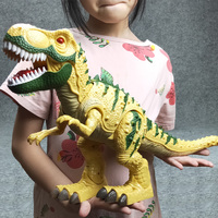 Electric interactive toys: talking and walking Dinosaur.Light Sound Tyrannosaurus Rex kids toys Electric toy Original packing|Electronic Pets|Toys & Hobbies -