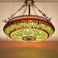 Европейский стиль кулон светильники свет роскошные виллы гостиных спальни ресторанов отеля огни работает подвесной светильник ZA82940