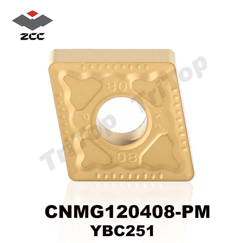درج چرخش ZCC.CT YBC251 CNMG 120408 -PM برش برای - ماشین ابزار و لوازم جانبی