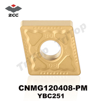 Zcc ct ybc251 cnmg 120408 pm turning inserts cutter for machining steel and stainless steel cnmg432.jpg 200x200