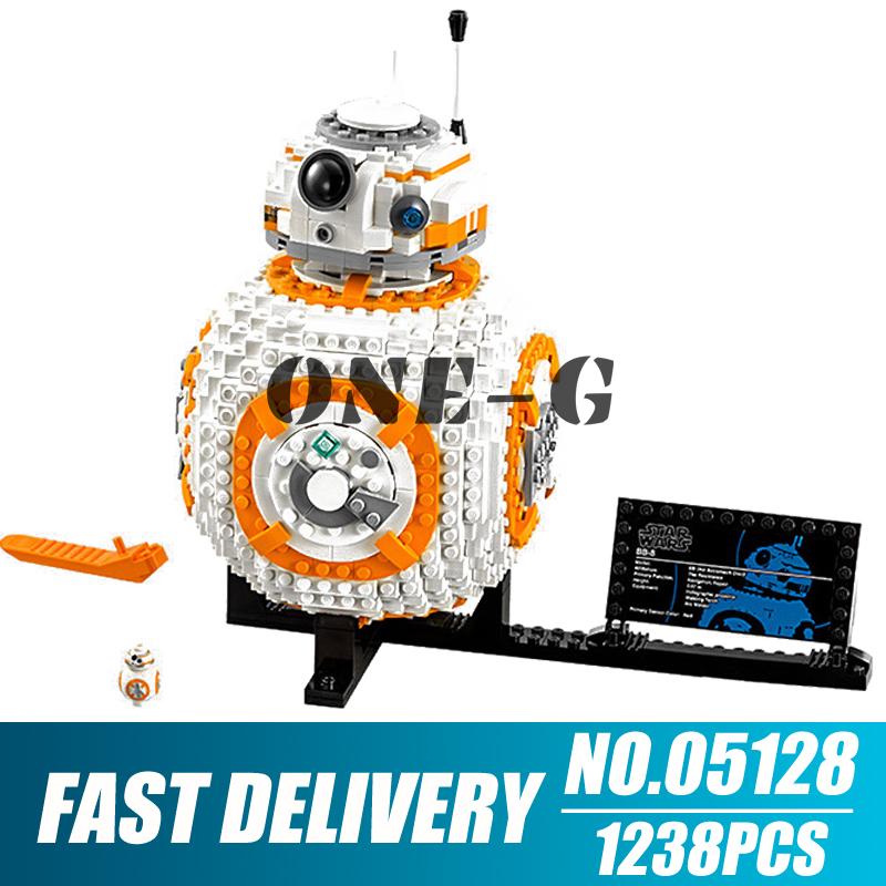 Building blocks 05128 Compatible with 75187 star wars series military Bricks BB 8 Robot figures toys