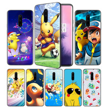 Cartoon Best Pokemons Anime Soft Black Silicone Case Cover for OnePlus 6 6T 7 Pro 5G Ultra-thin TPU Phone Back Protective Fundas
