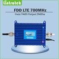 4 Г Усилитель Сигнала gain70dB 4 Г LTE 700 МГц LTE 700 мобильный сигнал повторителя Усилитель Сигнала Повторитель с Жк-Дисплеем дисплей