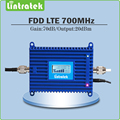 4G  Signal Booster gain70dB  4G LTE 700Mhz Signal Booster Repeater LTE 700 mobile signal repeater with Lcd display