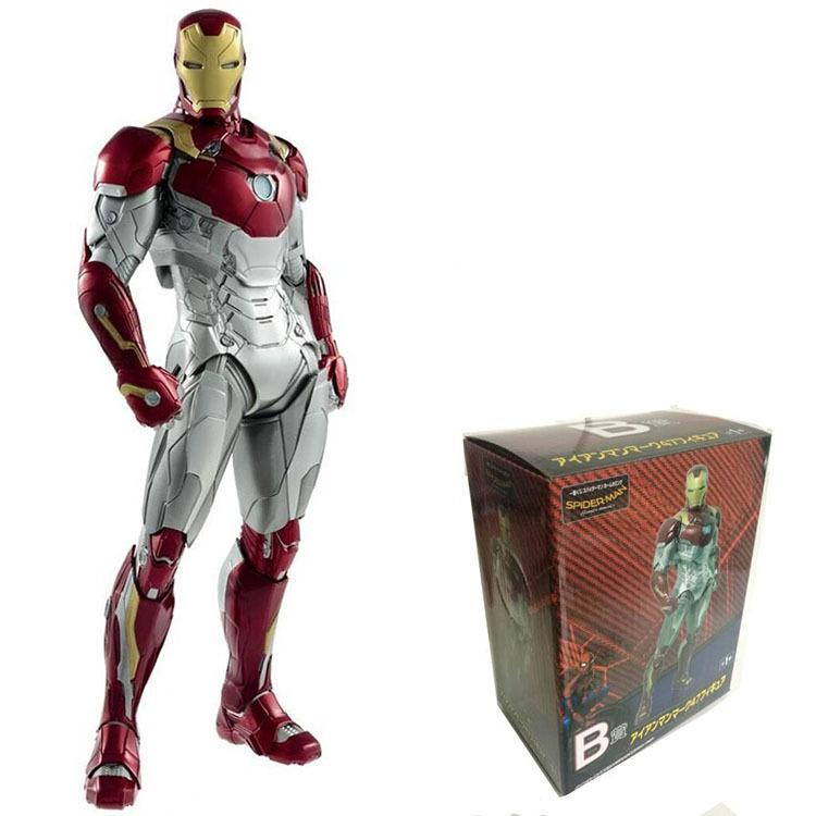 Mk47 Iron Man Spider-man: Homecoming Movie Figures Action & Toy Figures One Piece Action Figure Pvc Figures Model