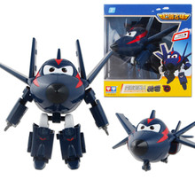 13styles 15CM Super Wings Big size Planes Transformation robot Action Figures Toys super wing Mini Jett toy For Christmas gift
