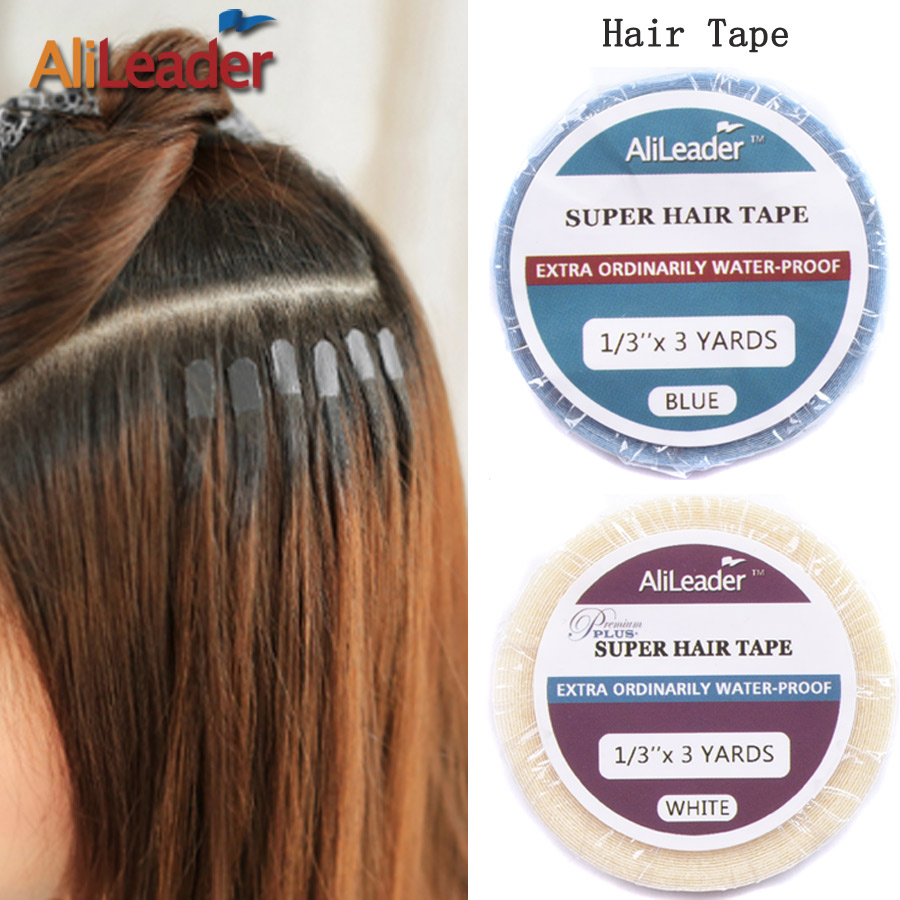 2017 New 3M Double Sided Adhesive Tape Strong Waterproof Glue For Hair Extensions Super Quality Hair Tape For Pu Skin Weft
