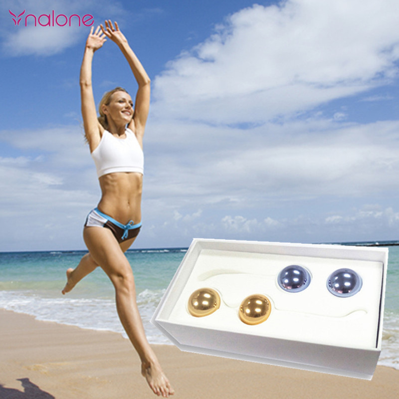Professiona Metal Egg Kegel Exercise 4pcs Balls Take Steps Pelvic Floor Muscles Vaginal Exercise Yoni Egg Ben Wa Ball Sex Toy himabm 1 set natural purple amethyst drilled egg for kegel exercise pelvic floor muscles vaginal exercise yoni egg ben wa ball