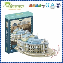 World Famous Architecture3D puzzle model Ukraine Buliding mo