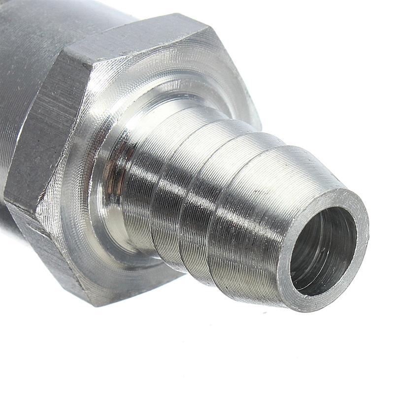 1 шт 6/8/10/12 мм из алюминиевого сплава с топливным обратным проверочным клапаном в одну сторону, пригодный для карбюратор