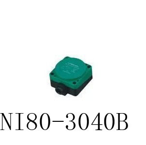 Inductive Proximity Sensor NI80-3040B NPN 3WIRE NC DC6-36V Detection distance 40MM Proximity Switch sensor switch dc6 36v lj8a3 2 z bx ax npn inductive proximity sensor detection switch 3d printer sensor closed open proximity switch