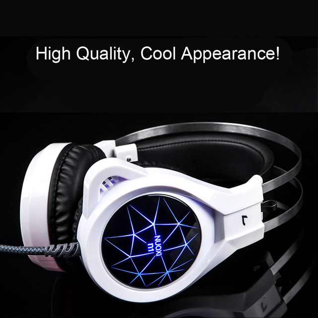 New Super LED Backlight Gaming Deep Bass Headphones 2