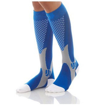 Professional Anti-Slip Nylon Cycling Socks Long Football Volleyball Men Women Fitness Hiking Running Sports Bike Footwear AC0165