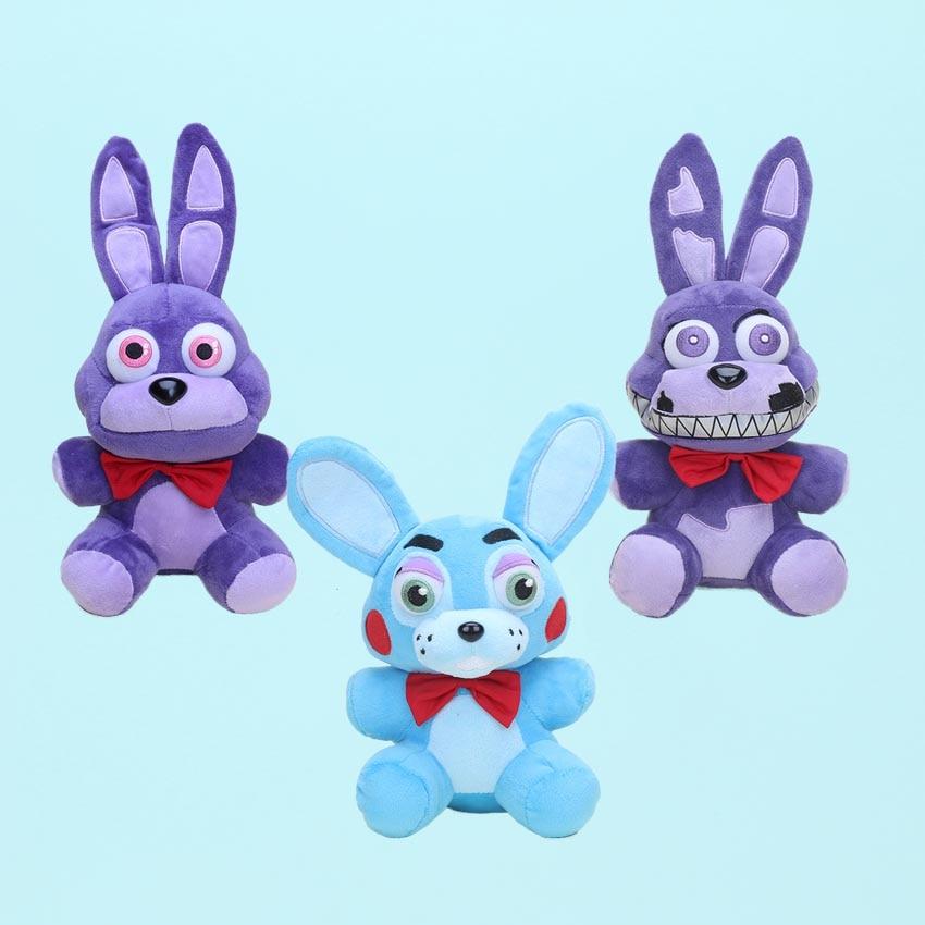 FNAF Plush Toy Five Nights At Freddy's  Nightmare Bonnie Toy Bonnie Plush Doll Stuffed Bunny Rabbit Animal Toys Kids Gift