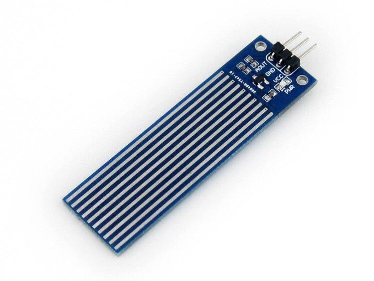 Waveshare Liquid Water Level Alarm Sensor Module Liquid Level Sensor Circuit Depth Detection Sensor Module 1pcs current detection sensor module 50a ac short circuit protection dc5v relay