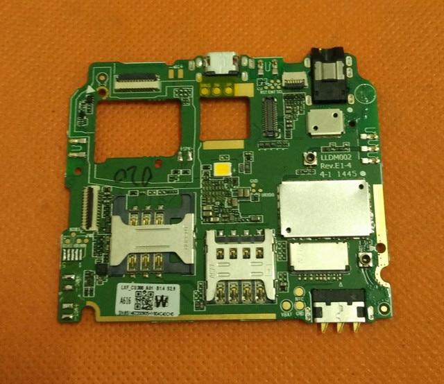Mainboard original 512 m ram + 4g rom motherboard para lenovo a616 android 4.4 mtk6732m quad core 5.5 polegada livre grátis
