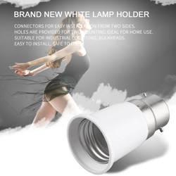 ICOCO белый B22 к E27 гнездо свет лампа держатель адаптер расширитель патрона лампы Патрон конвертер гнездо Изменить