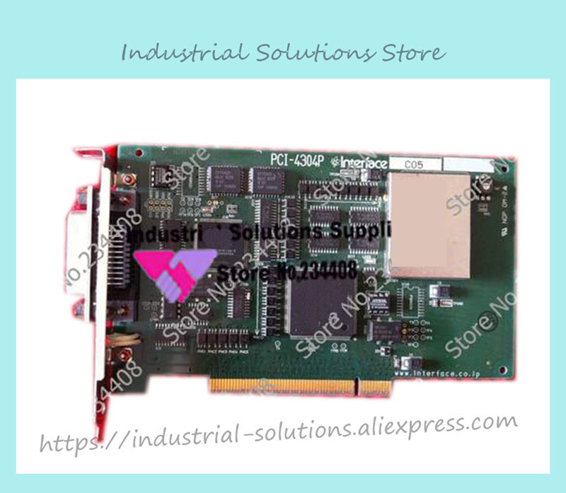 Interface PCI-4304P GPIB card 100% tested perfect quality interface pci 2796c industrial motherboard 100% tested perfect quality
