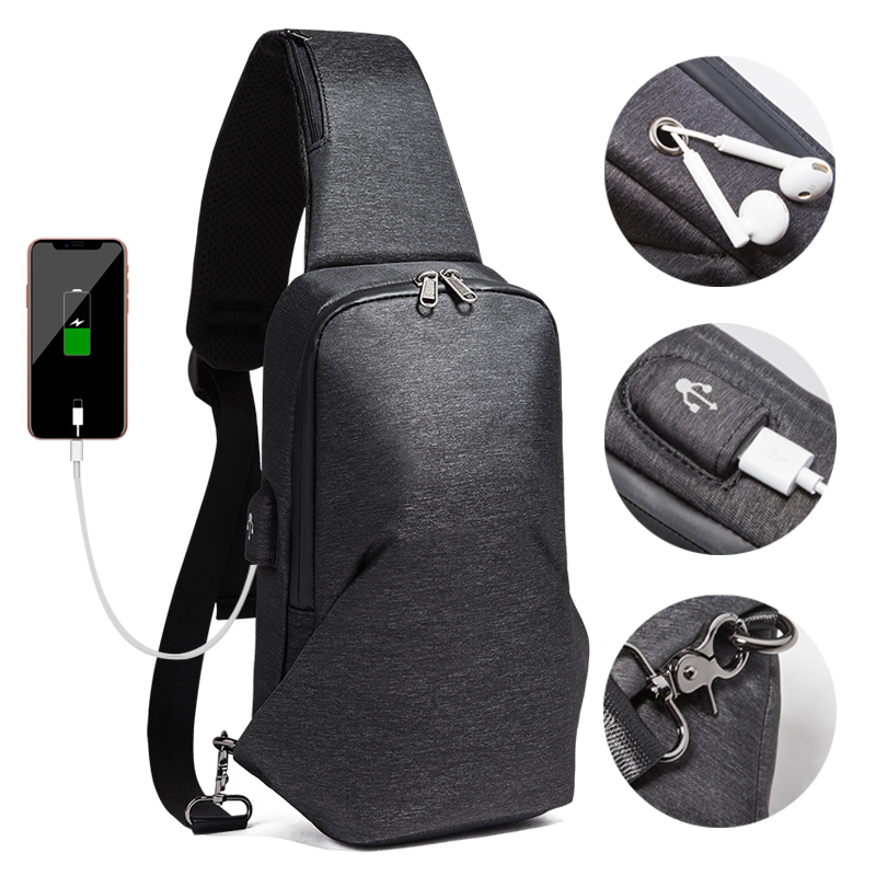Crossbody Bags With USB Charging Port