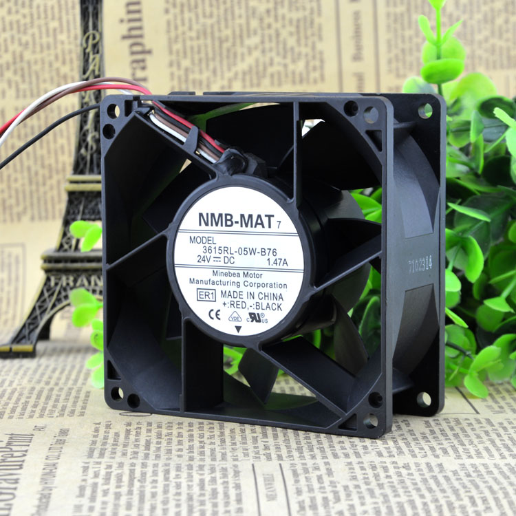 Free Delivery. 3615 rl - 05 w - B76 9038 24 v A 9 cm / 1.47 cm The inverter fan free delivery 5 cm fan turbine 5015 24 v 0 11 a d05f 24 ph 3 b