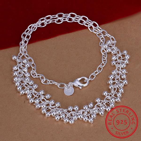 Classic jewelry Chain Necklace 925 Sterling Silver Necklace Wedding Party Drop Shipping Engagement Necklace Collar de plata