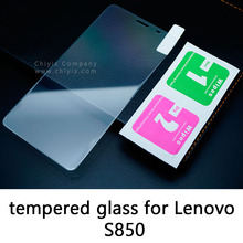 Glossy Lucent Frosted Matte Anti glare Tempered Glass Protective Film On Screen Protector For Lenovo S850