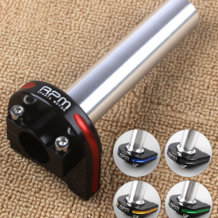 CNC Aluminum Alloy Quick Turn Twist Throttle Fuel Oil Handlebar Control Grips Accelerator For Motorcycle Scooter Dirt Bike