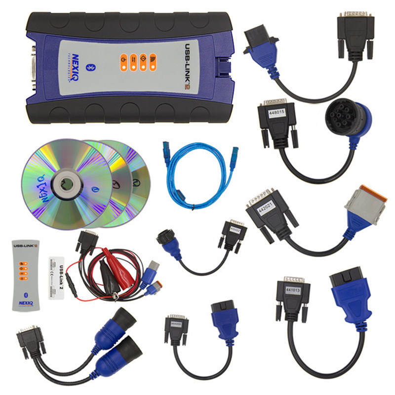 Truck Styling NEXIQ2 USB Link Diesel Truck Diagnostic Tool With Full Set NEXIQ 2 USB Link With Software Heavy duty truck scanner