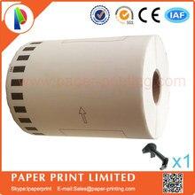 10 сменных рулонов, совместимых DK-22243 этикеткой 102 мм* 30,48 м, непрерывная Совместимость для принтера Brother QL-1060, этикеток, белый DK2243