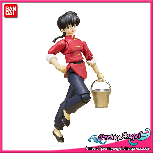 PrettyAngel   Genuine Bandai Tamashii Nations S.H.Figuarts Ranma 1/2 Ranma Saotome Action Figure
