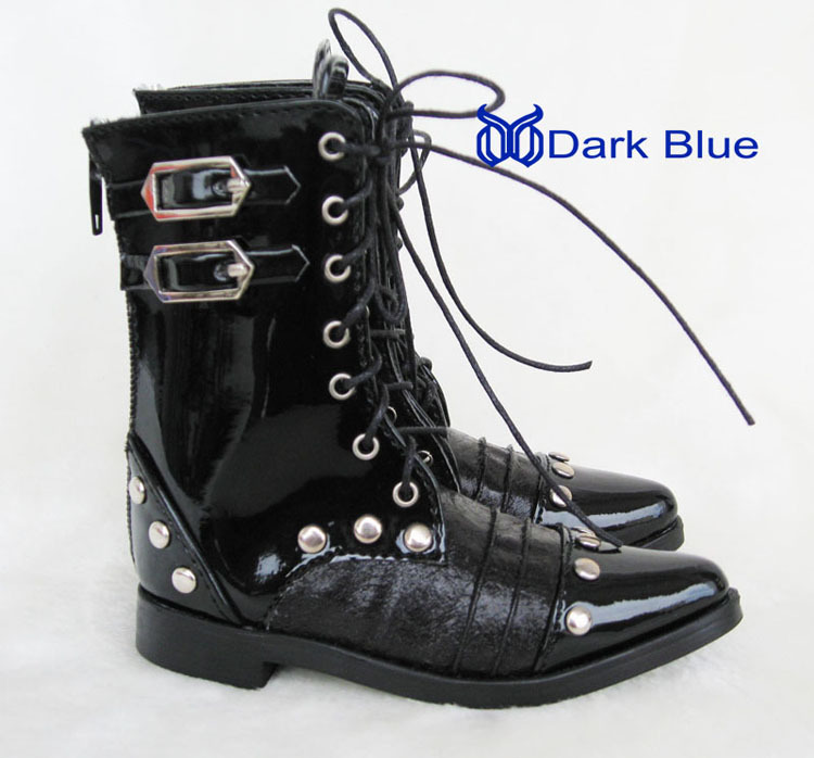 1 3 BJD Doll shoes for uncle black