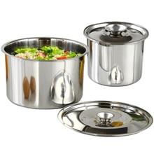 XMT-HOME кухонные принадлежности, миска для приготовления пищи, суповый горшок с крышкой, канистры для лапши, контейнер для масла для приправ, 1 шт