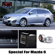 Auto TPMS For Mazda 6 Mazda6 / Tire Pressure Monitoring System Of External Sensors / Embedded Installation DIY So Easy