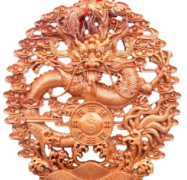 free shipping 16 China peach wood dragon the Eight Diagrams wall plate Sculpture Statue b1ch180a25b wiring diagram b1ch180a25b wiring diagrams collection  at creativeand.co
