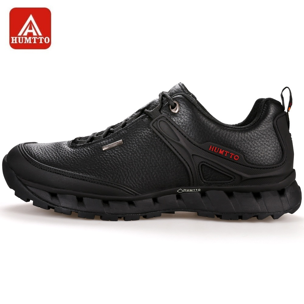 HUMTTO Men Walking Shoes Winter New Outdoor Sports Camping Shoes Antiskid Breathable Trekking Sneakers