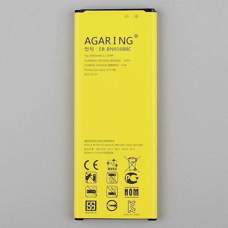 Оригинальный сменный аккумулятор EB-BN916BBC для <font><b>Samsung</b></font> Galaxy NOTE4 N9100 N9108v N9106w <font><b>Note</b></font> <font><b>4</b></font> Authenic аккумулятора телефона 3000 мАч