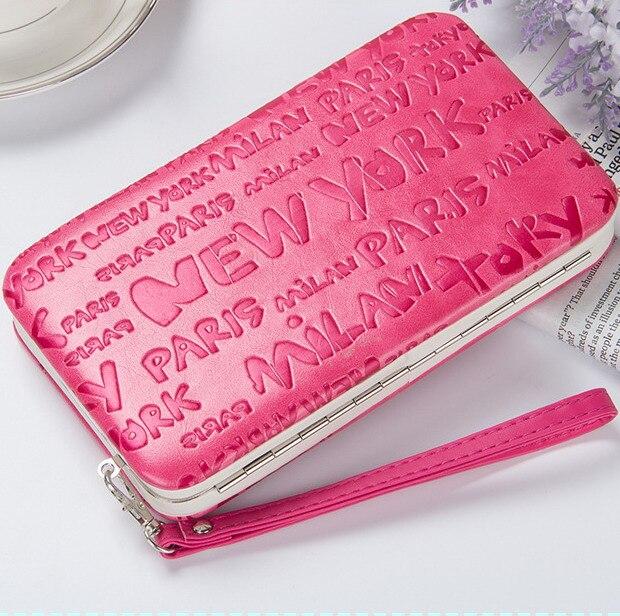 43297b55f Novo estilo das mulheres Do Monograma caixa de lápis carteira Ms. estilo  lancheira bolsa Mobile Phone Bags Frete Grátis 1313 em Carteiras de Bolsas  e malas ...